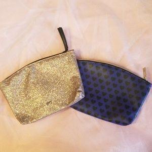 2/$6- NWOT Ipsy Makeup Bags